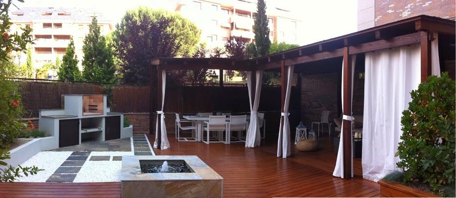 Reformas terrazas jardines madrid de bajo mantenimiento - Terrazas y jardines ...