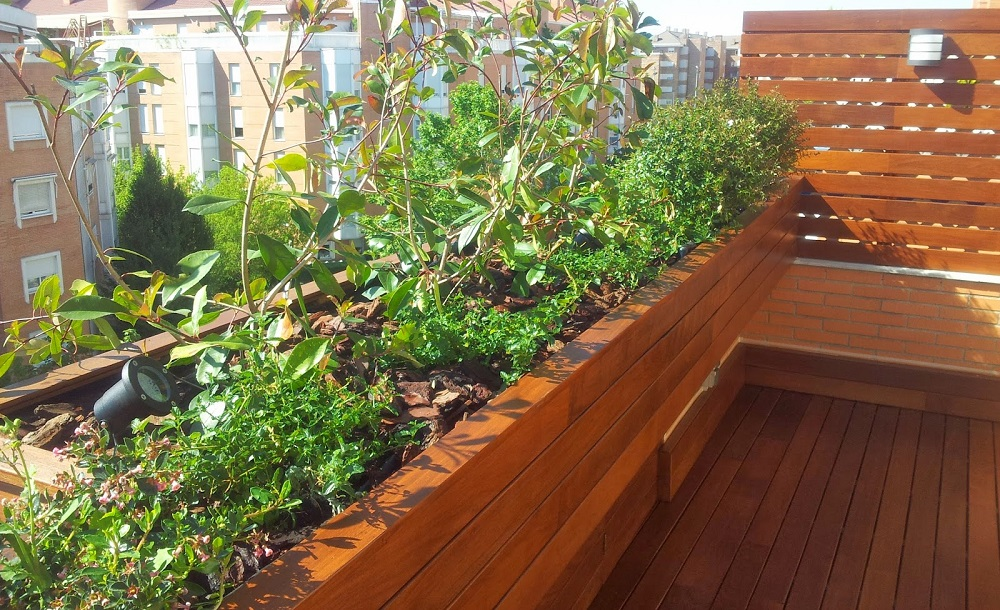 Tarima tropical de madera ipe para terrazas en exterior - Tarimas de madera para exterior ...