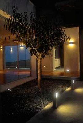 Iluminaci n de exterior buenas ideas para iluminar - Iluminacion de jardines fotos ...