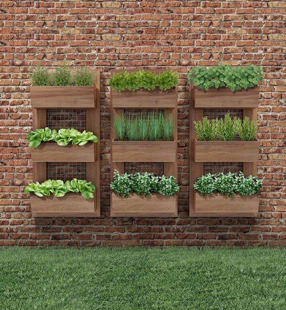 jardines verticales pequeos - Jardines Pequeos