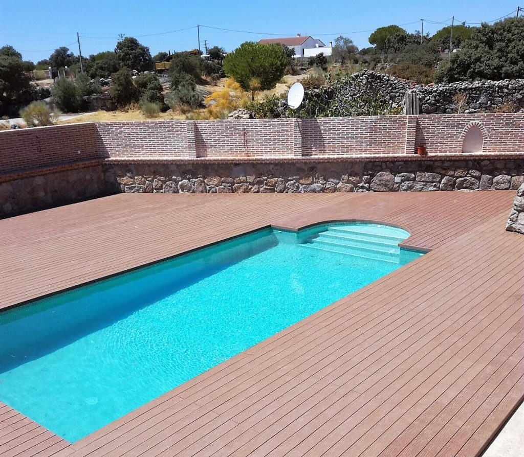 Madera Para Piscinas. Amazing Cheap Suelos De Maderas Mara En En ...