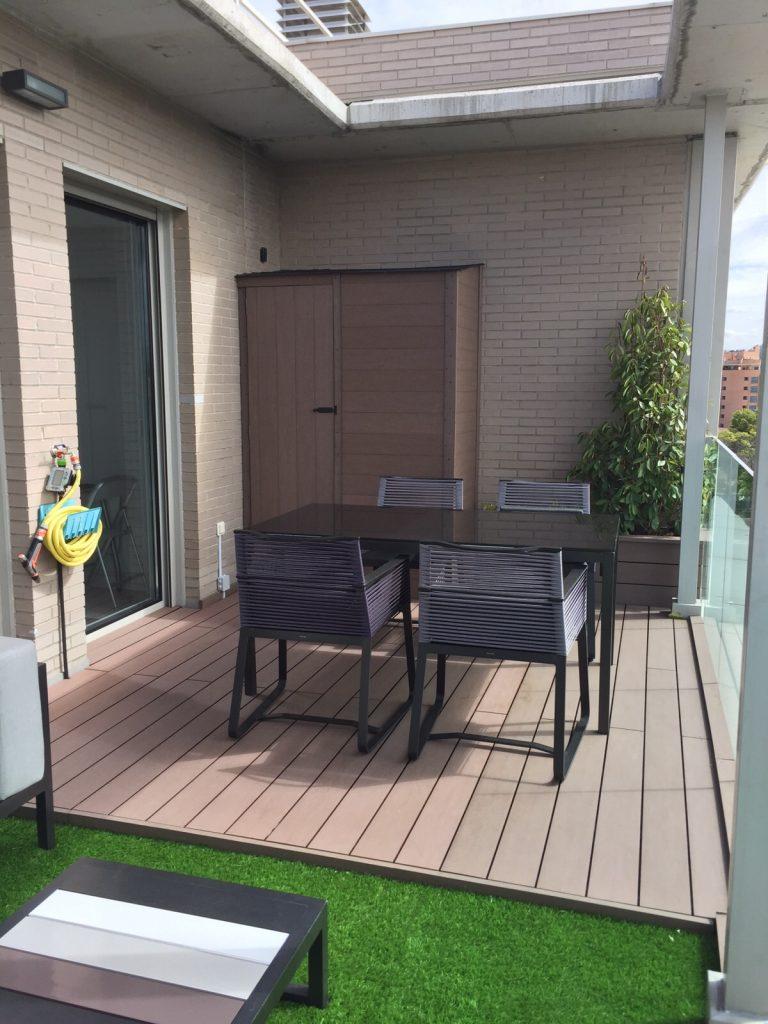 Armarios para exterior armarios a medida sin mantenimiento - Armario para terraza ...