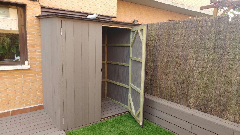 Armarios para exterior armarios a medida sin mantenimiento for Armarios para terrazas